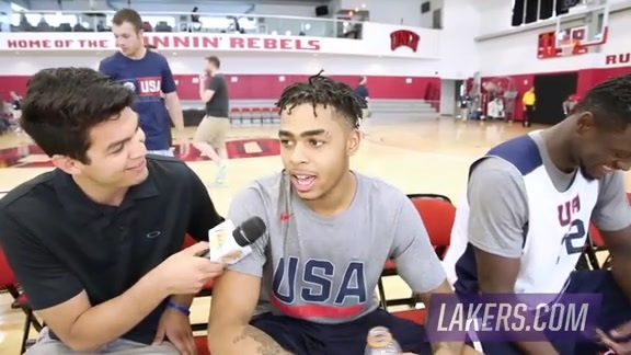 USA Select Team: D'Angelo Russell (7/18/16)