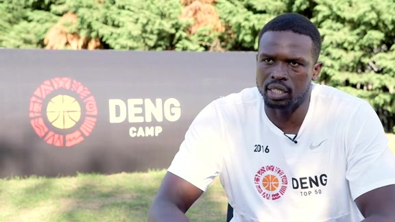 Luol Deng Top 50 Camp