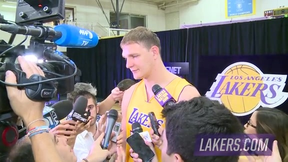 Media Day: Timofey Mozgov