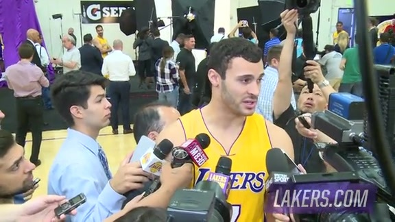 Media Day: Larry Nance Jr.