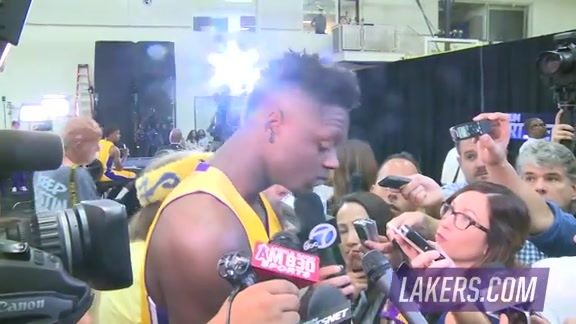 Media Day: Julius Randle