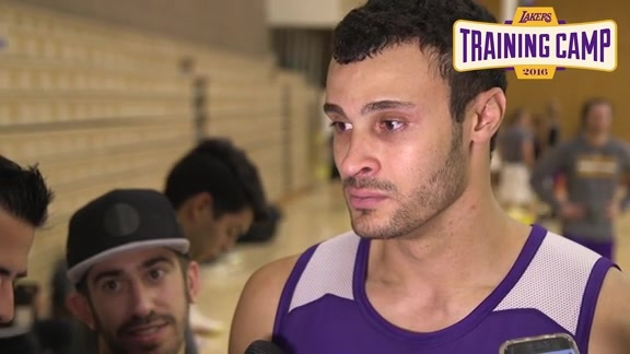 Training Camp: Larry Nance Jr. (9/27/16)