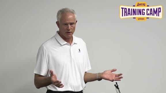 Training Camp: Mitch Kupchak (9/27/16)