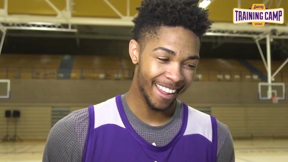 Training Camp: Brandon Ingram (9/29/16)