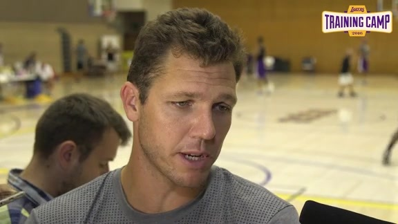 Training Camp: Luke Walton (9/29/16)