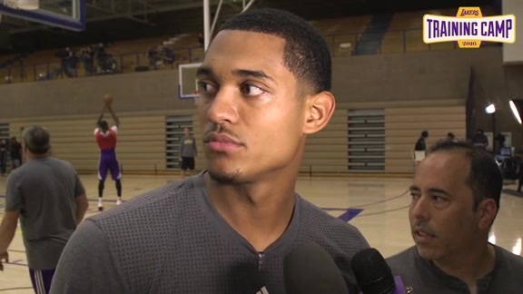 Training Camp: Jordan Clarkson (9/30/16)