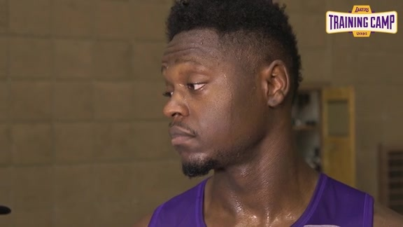 Training Camp: Julius Randle (10/1/16)