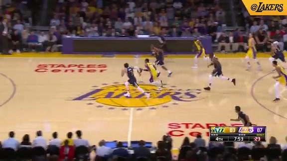 HIGHLIGHTS: Lakers vs. Jazz