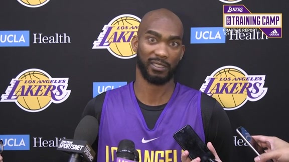 Practice Report: Corey Brewer (10/11/17)