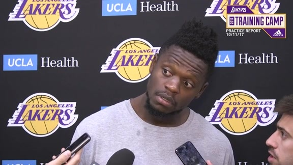 Practice Report: Julius Randle (10/11/17)