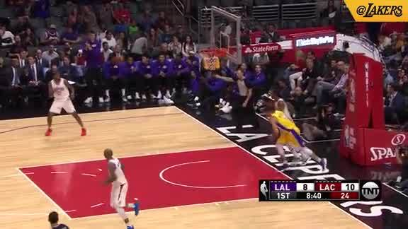 Ingram Finds Nance Jr.