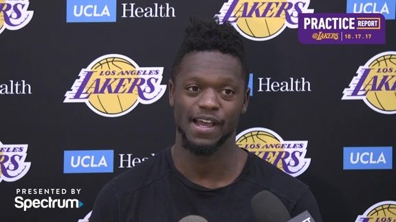 Practice Report: Julius Randle (10/17/17)