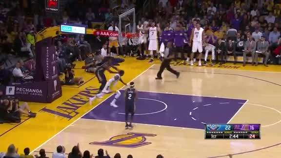 KCP's First Lakers Bucket