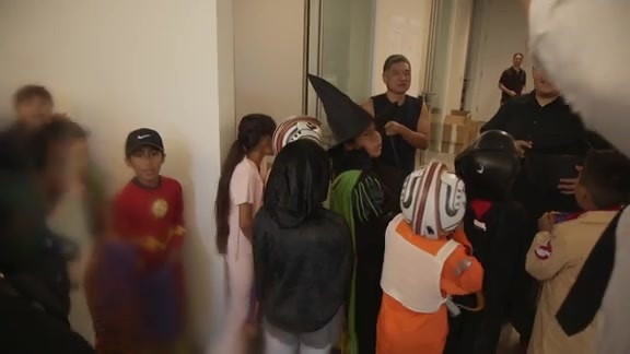 Halloween Trick or Treat with Playworks