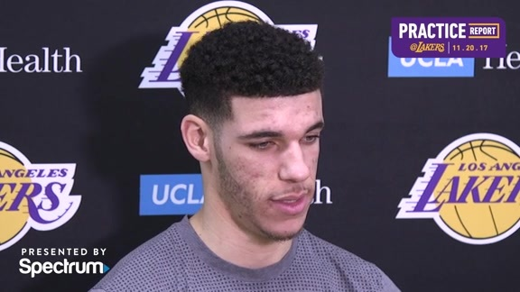 Practice Report: Lonzo Ball (11/20/17)