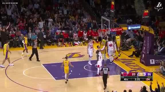 Ingram Finishes Through Contact