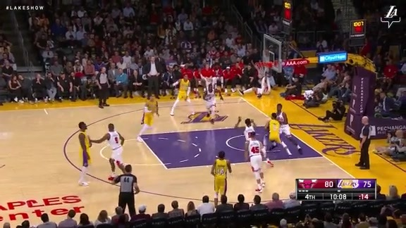 Kyle Kuzma Highlights vs. Bulls