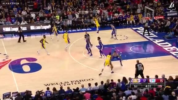 Highlights: Lakers vs 76ers (12/7/17)