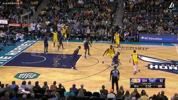 HIGHLIGHTS: Lakers at Hornets