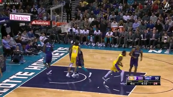 Brandon Ingram Highlights vs. Hornets
