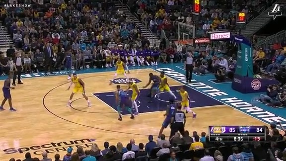 Kyle Kuzma Highlights at Hornets