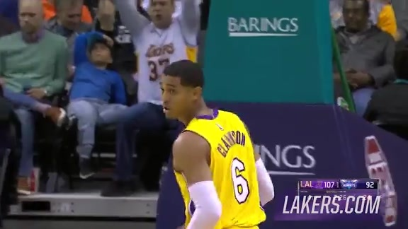 Clarkson-Randle Fourth-Quarter Pick-and-Roll