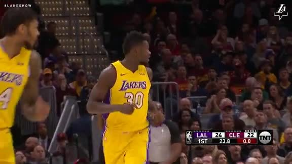 Randle's Strong Moves in the Paint
