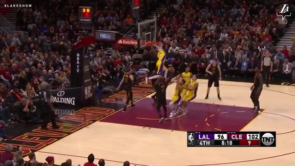 HIGHLIGHTS: Lakers at Cavaliers