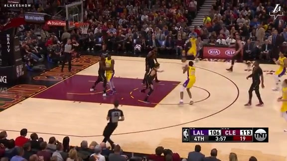 Brandon Ingram Highlights vs. Cavaliers