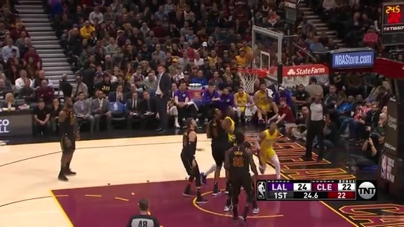 Brandon Ingram Rebound and Push
