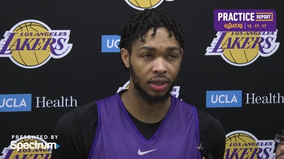 Practice Report: Brandon Ingram (12/17/17)
