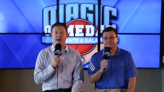 Magic Gameday with Dante and Galante: Magic vs. Hornets Pt. 3