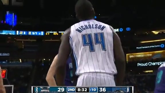 Andrew Nicholson's AND-1 vs. Hornets