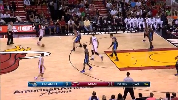 Scouting the Heat Play #4