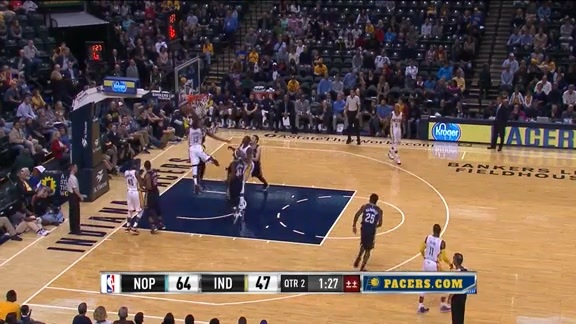 Scouting the Pacers Play #2