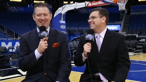 Magic Gameday with Dante and Galante: Magic vs. Bucks