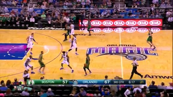 Oladipo's Quick Three vs Celtics