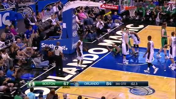 Oladipo Blocks Bradley vs Celtics