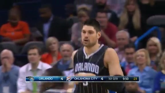 Highlights: Vucevic vs Thunder