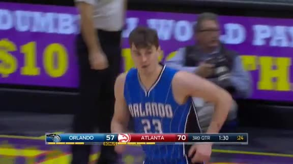 Hezonja Strength: Playing in Transition