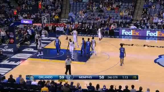 Victor Oladipo Drawing the Foul #3