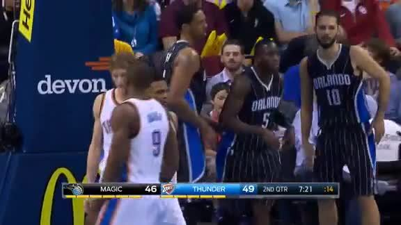 Victor Oladipo Drawing the Foul #5