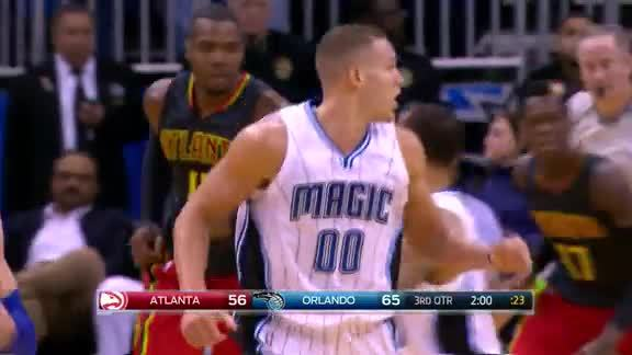 Gordon Tough Basket vs Hawks