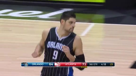 Highlights: Vucevic vs Hawks