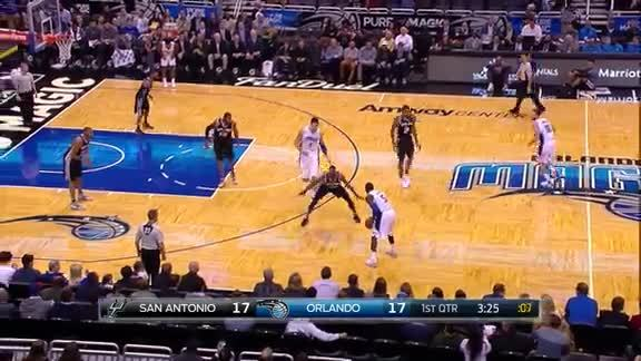 Oladipo Crossover vs Spurs