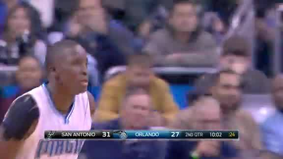 Oladipo Slams vs Spurs