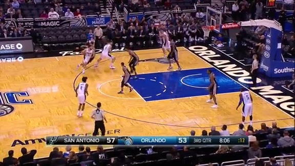 Highlights: Vucevic vs Spurs