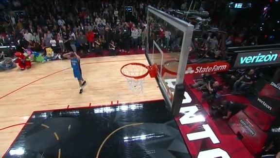 Dunk Contest: Aaron Gordon