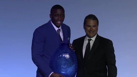 Oladipo Wins Rich and Helen DeVos Community Enrichment Award