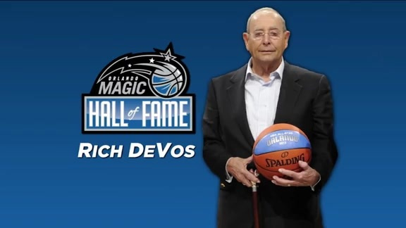 Rich DeVos Inducted Into Magic Hall of Fame